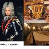 Donas Amélias para D. João V....Convidei para Jantar