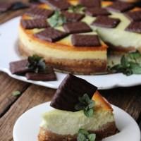 Cheesecake de menta...Dia Um...Na Cozinha