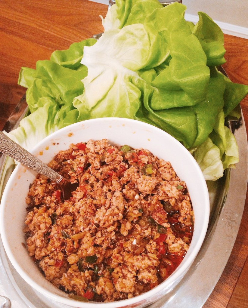 Cravings cookbook | chicken lettuce wraps | foodwithaview.com