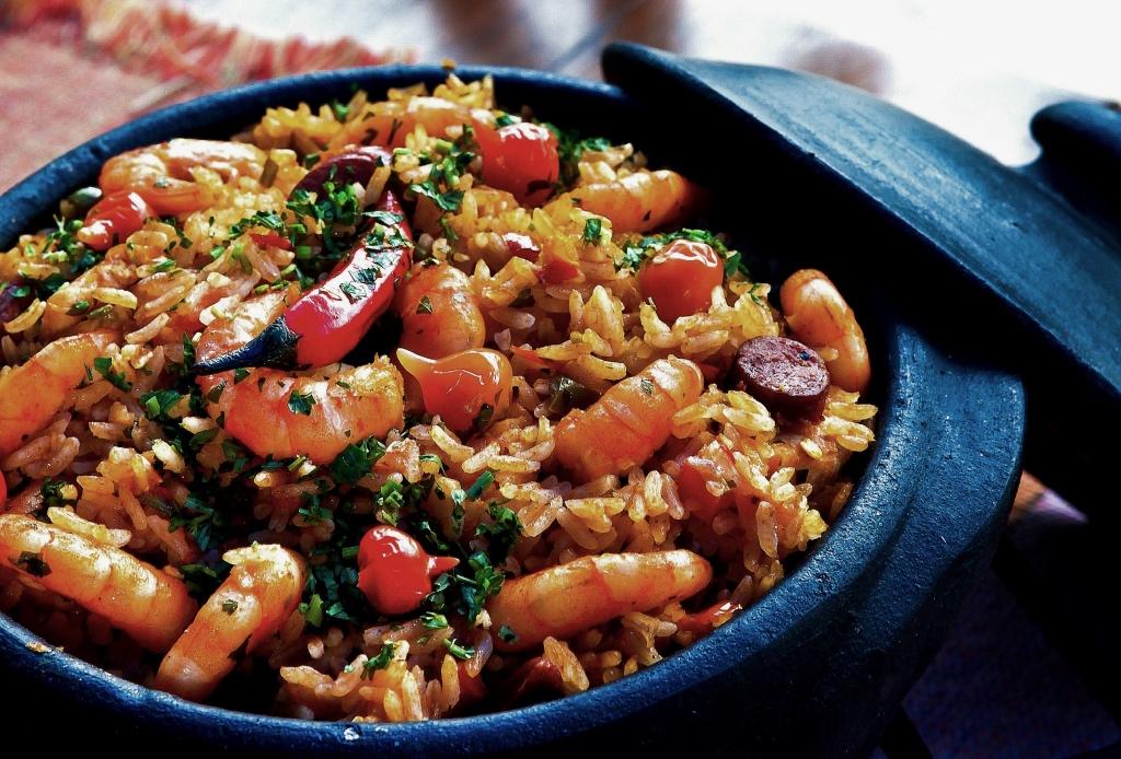 Paella pan | Socarrat Restaurant | photo by Cel Lisboa | NYC Restaurants on foodwithaview.com