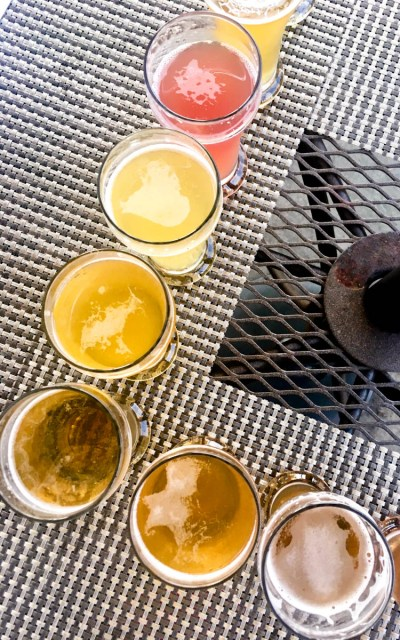 Light summer beer tasting | Tapastre Somerville NJ | beer and food, food and beer | foodwithaview.com
