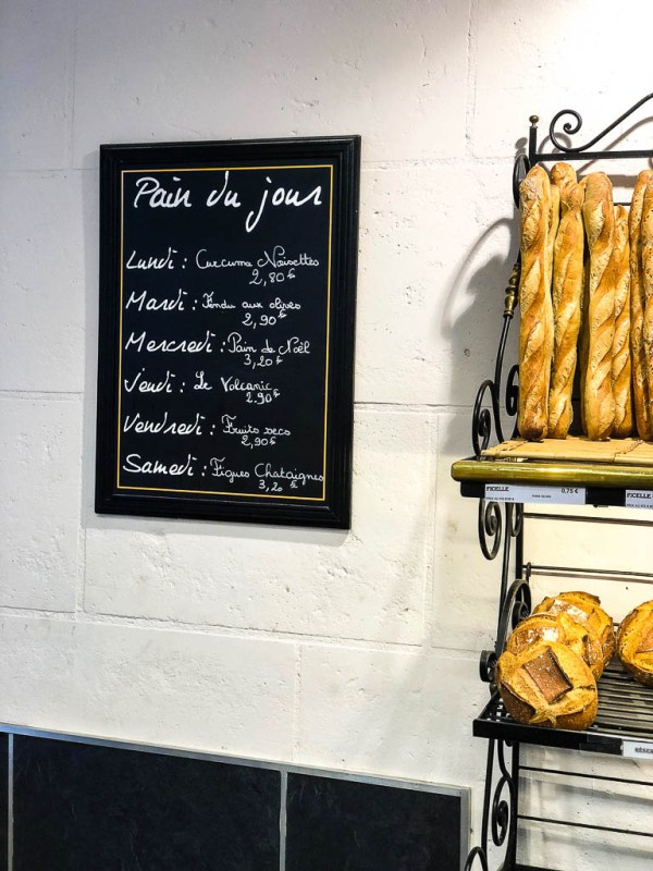 What to eat on a trip to Paris | Daily Bread in a Paris Bakery | Restaurants, cafes, food markets and more | Culinary adventures in Paris on foodwithaview.com