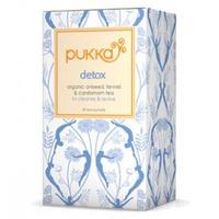 A box of detox tea - 20 tea bags.