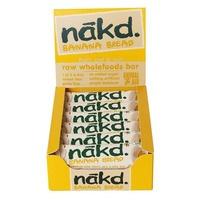 A box of Nakd Banana Bread bars.