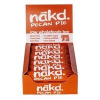 A box of Nakd Pecan Pie bars.