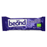 beond organic blueberry bar