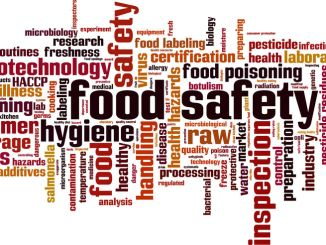 Food safety cloud image.