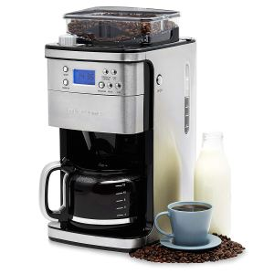 Andrew James Bean to Cup Coffee Machine & Grinder | 1.5L Carafe | 1100W