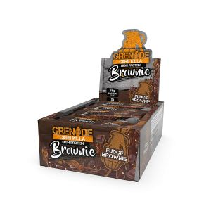 Grenade Carb Killa High Protein Brownie, 12 x 60g - Fudge Brownie