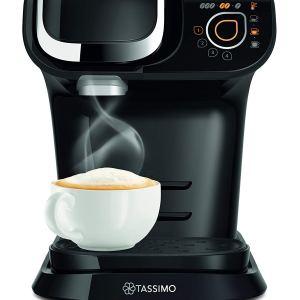 Bosch Tassimo My Way TAS6002GB Coffee Machine, 1500 watts, 1.2 Litres - Black