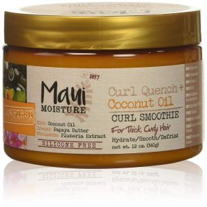 Maui Moisture Quench + Coconut Oil Curl Smoothie, 12 Ounce