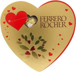 Ferrero Rocher T10 Heart Chocolate, 125 g