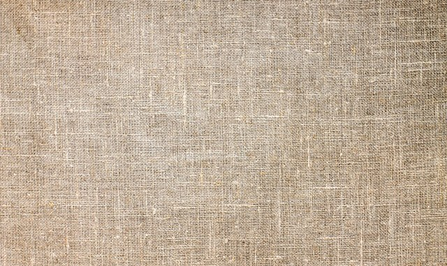 Jute makes for a classic textile as well as having defined health benefits. Full frontal picture.