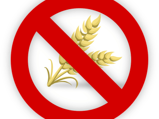 wheat with a no go symbol. A sign for celiac disease sufferers.