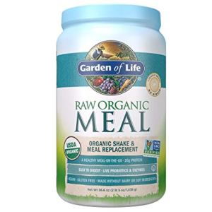 raw organic meal from Garden Of Life