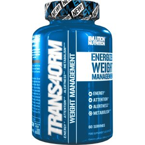 Evlution Nutrition Trans4orm Thermogenic Energizer 60 Serving Capsules
