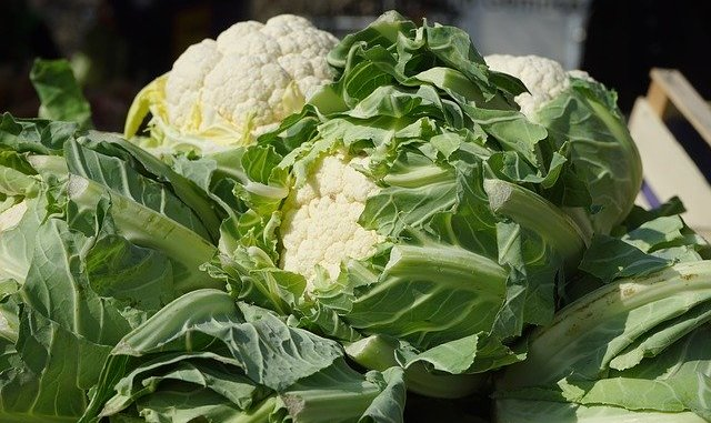 Cauliflower is one of our top vegan foods