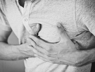Chest pain as a symptom of a heart attack of a hreat attack