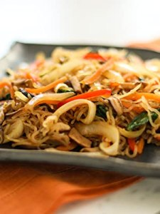 Japanese Style Fried Shirataki Noodles
