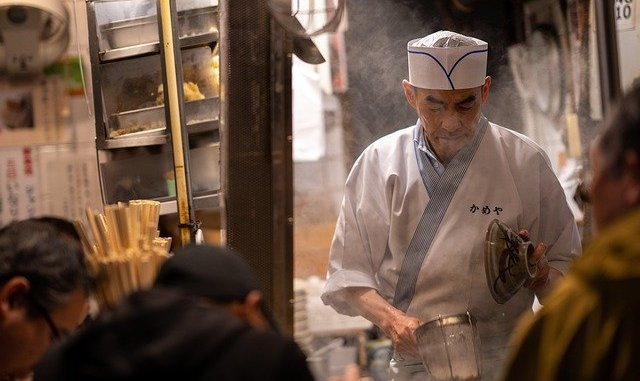 Shirataki noodles, cuisine
