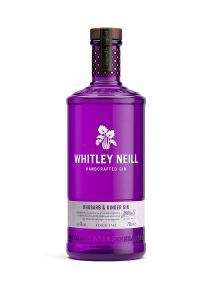 Whitley Neill Rhubarb & Ginger Gin, 70 cl
