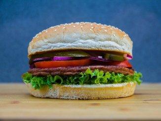 A beefburger.