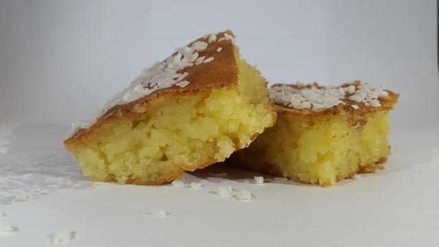 tapioca flour in a cake