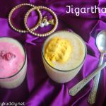 Jigarthanda Recipe Using Badam Pisin|Madurai Jigarthanda