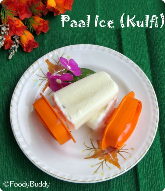Homemade Kulfi Recipe