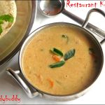 Restaurant Style Kurma recipe without vegetables