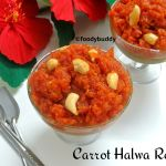 carrot halwa recioe