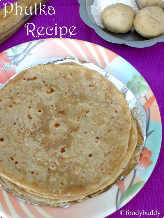 how to make soft phulka at home