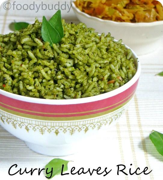 curry leaf recipe