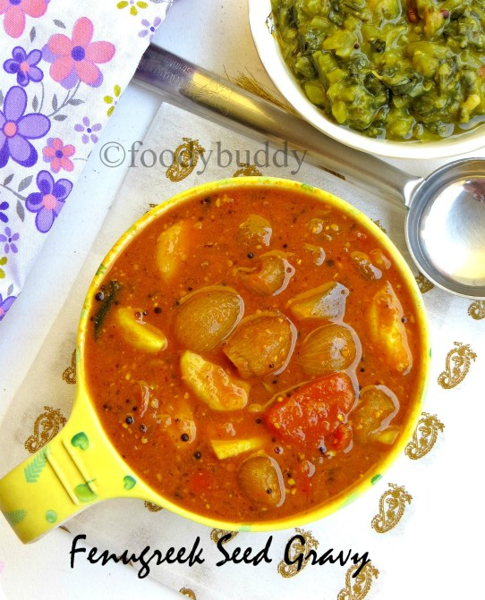 methi seeds curry