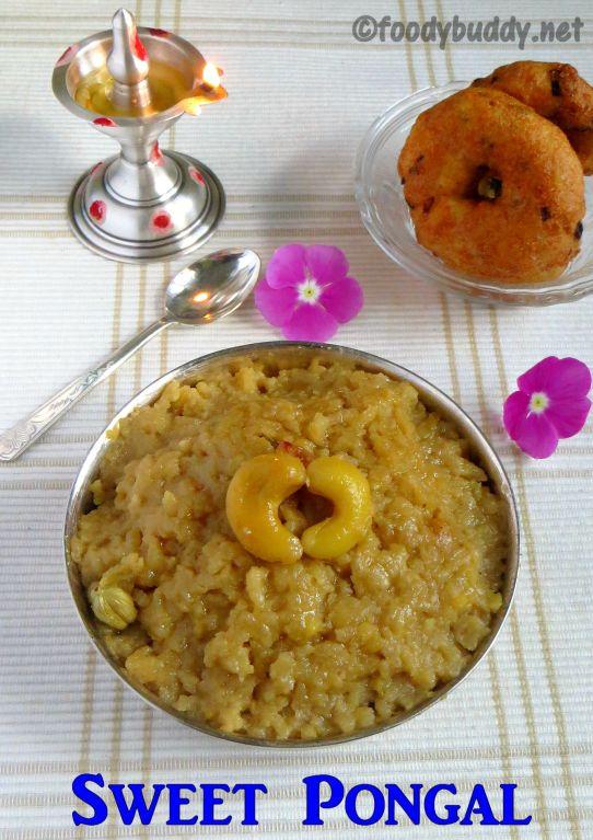Best Sweet Pongal Recipe