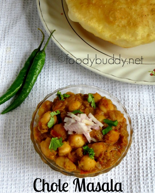 easy chole masala recipe