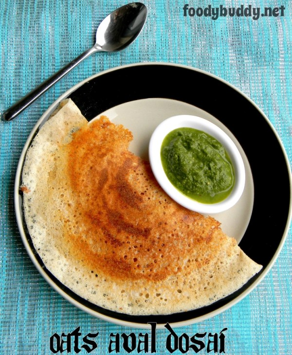 OATS AVAL DOSAI recipe