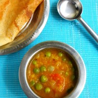 Sundakkai Sambar / Pachai Sundakai Recipe