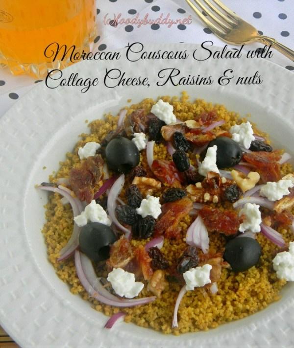 Five Spice Moroccan Couscous-Salad