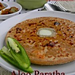How To Make Aloo Paratha / Potato Stuffed Indian Bread
