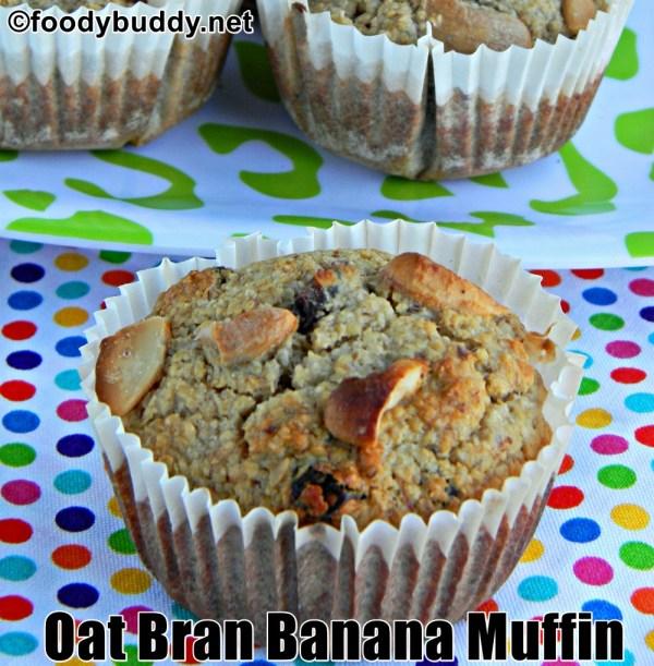 oat bran muffins recipe