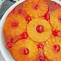 condensed milk pineapple cake eggless