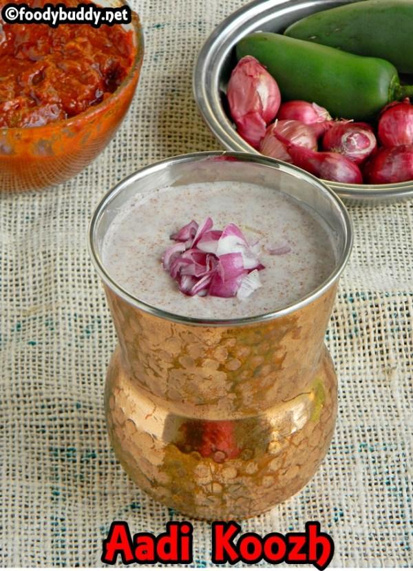 Fingermillet porridge