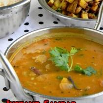 pottukadalai sambar recipe