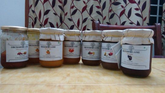 orchard lane fruit jam