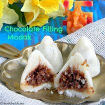 how to make chocolate modak