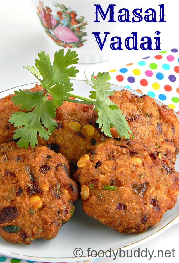 MASAL VADAI RECIPE / KADALAI PARUPPU VADAI / AAMA VADAI