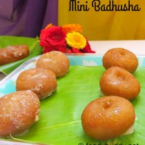 mini badhusha recipe