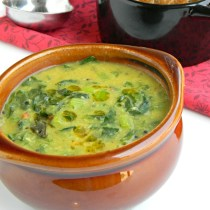 turnip greens kootu recipe indian style