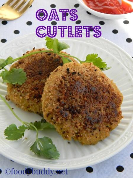 oats cutlet recipe